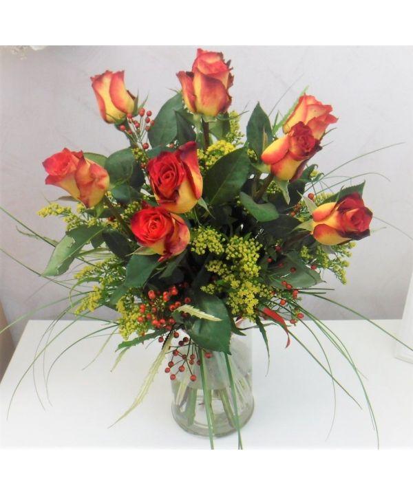 Ohnivé růže
