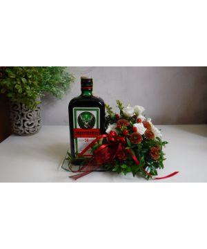 Jägermeister  s květinami