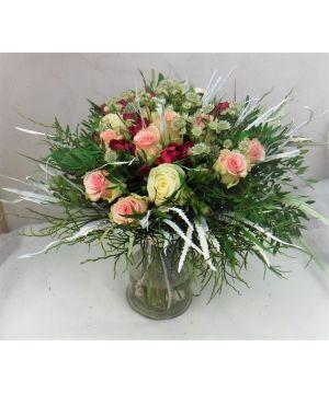 Růže v zimním hávu
